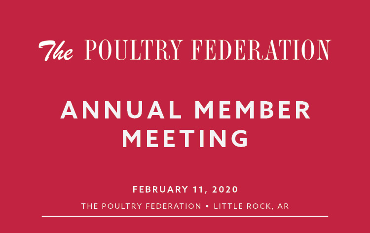 Annual Member Meeting Flyer